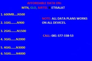 Cheap data bundles for sale - Port Harcourt - free classifieds in